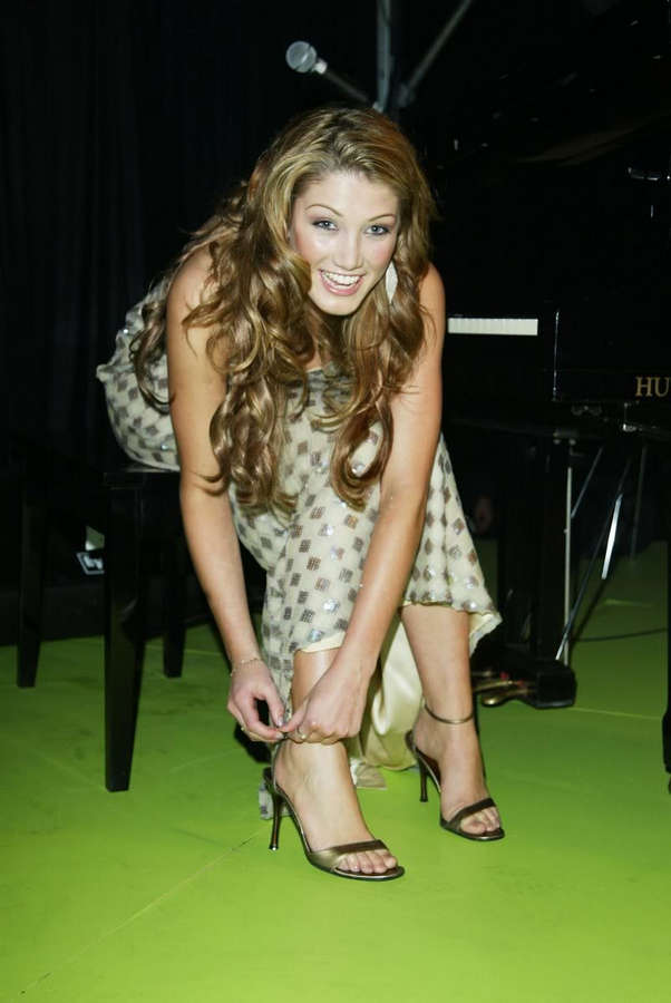Delta Goodrem Feet