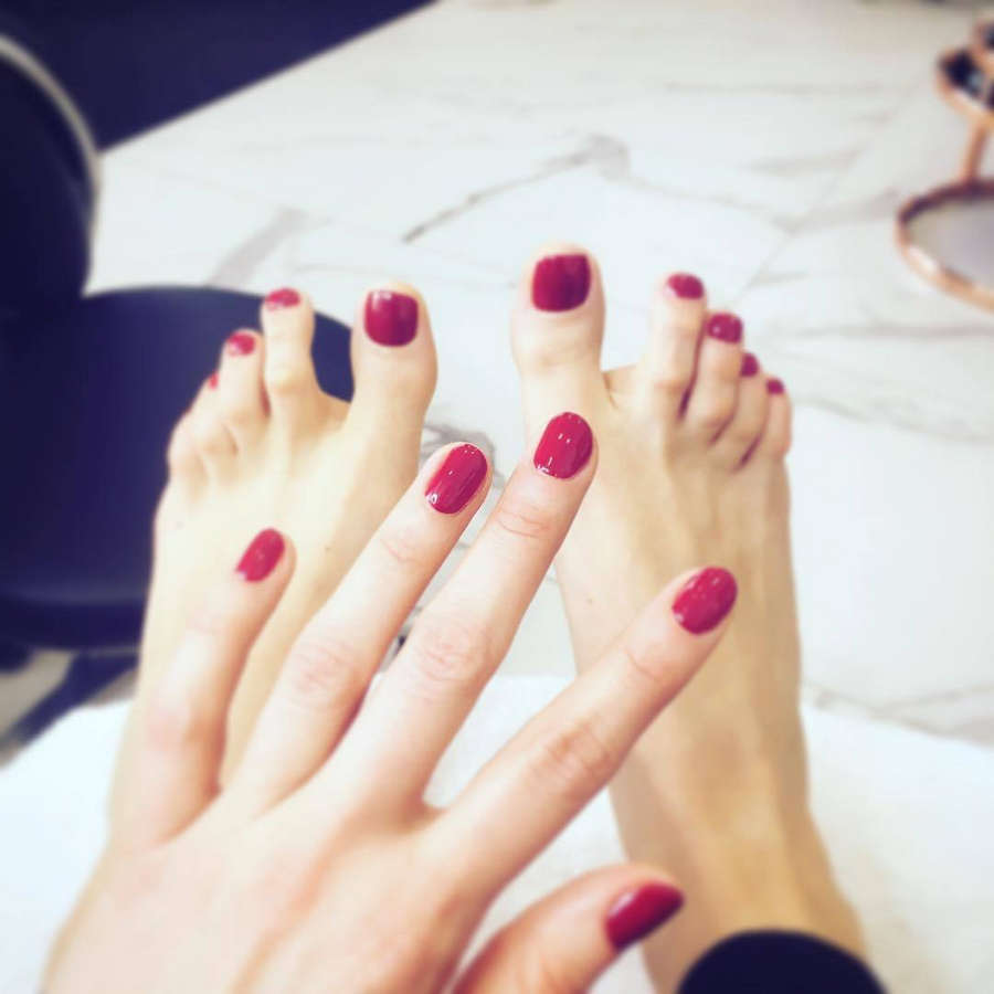 Anna Ilczuk Feet