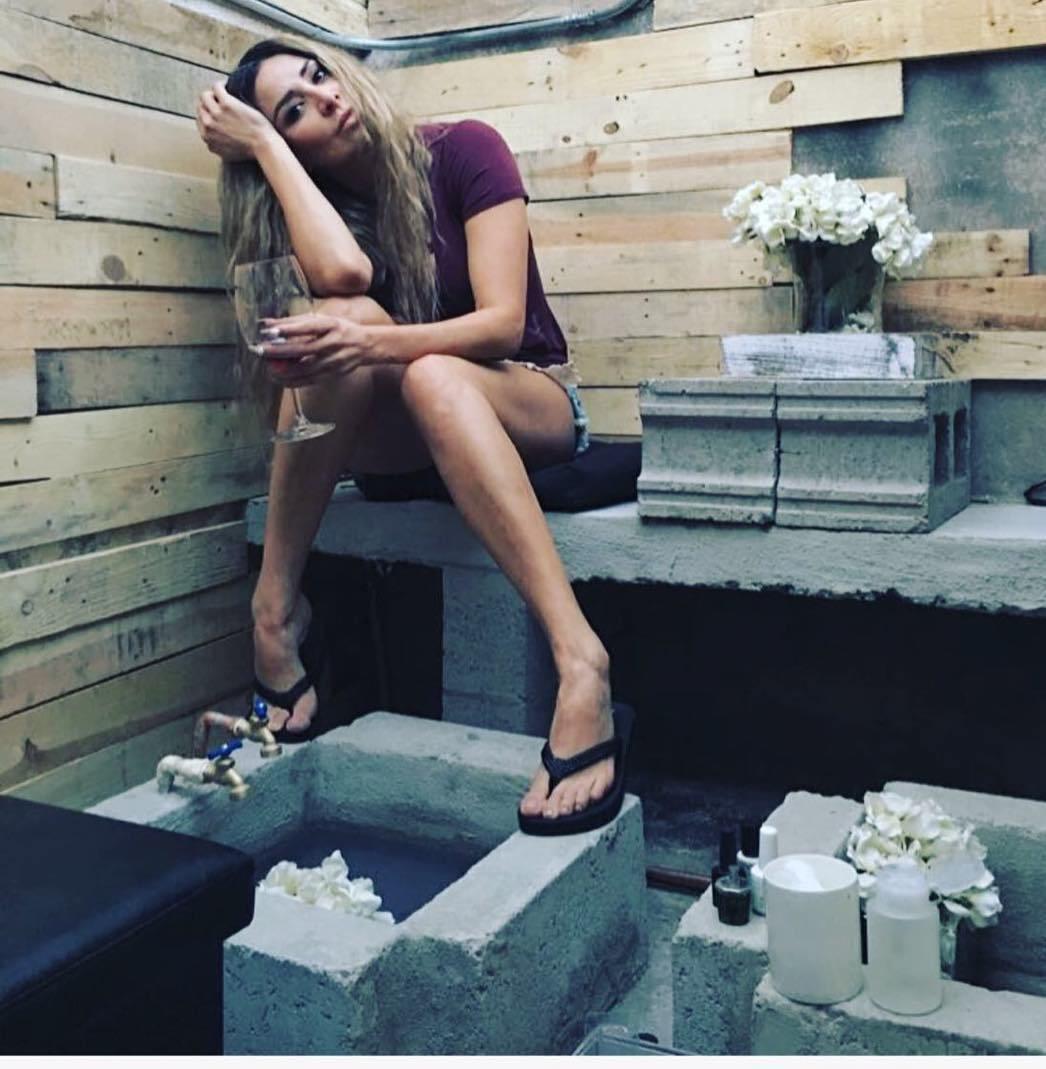 Cristina Eustace Feet