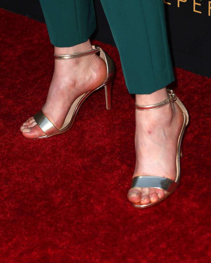 Magdalena Lamparska Feet