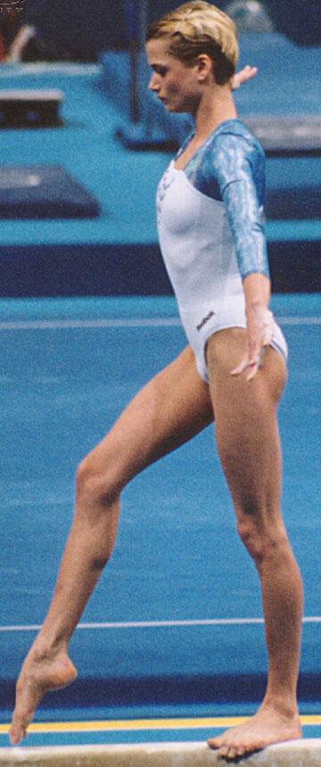Svetlana Khorkina Feet