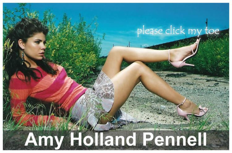 Amy Holland Pennell Feet