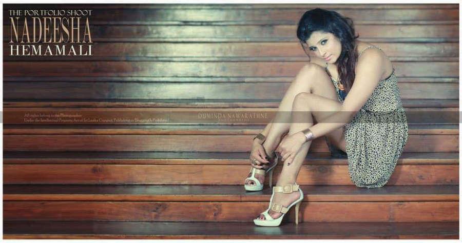 Nadeesha Hemamali Feet