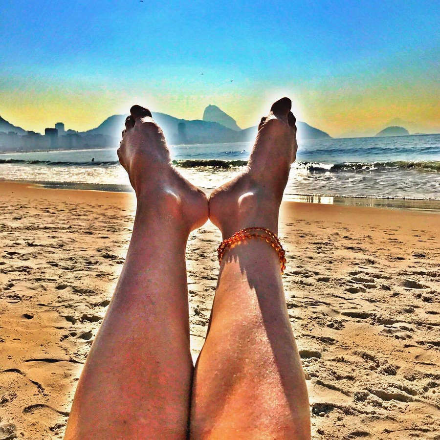 Barbara Borges Feet