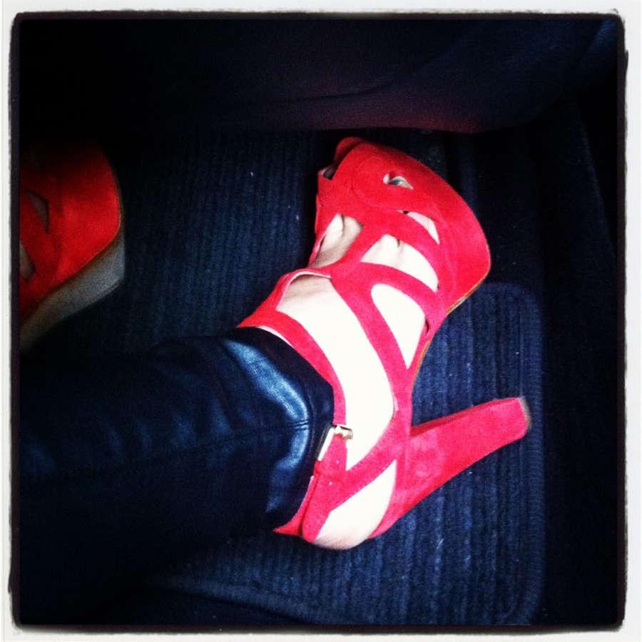 Cherry Healey Feet