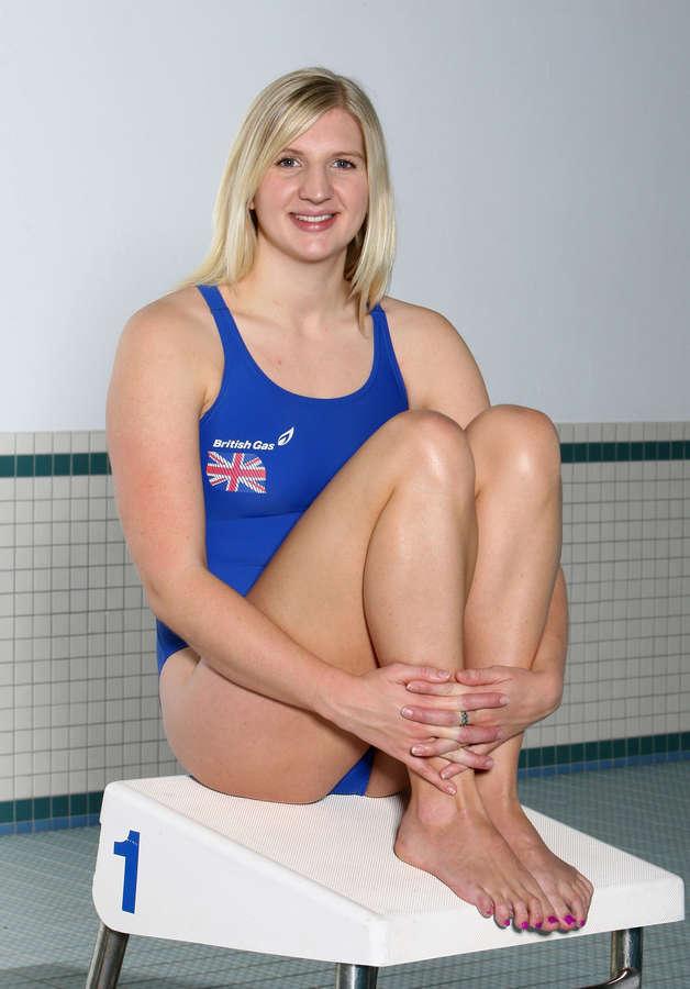 Rebecca Adlington Feet