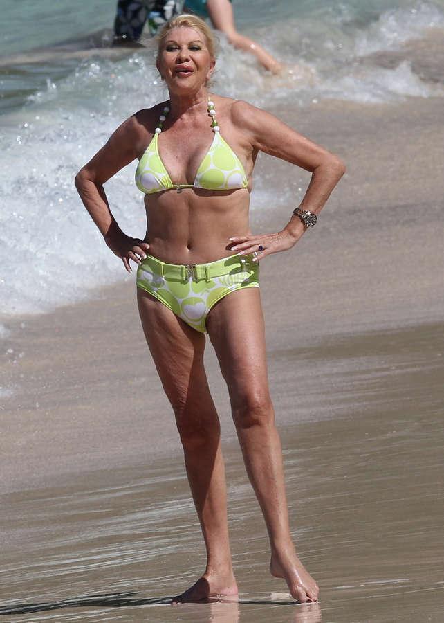 Ivana Trump Feet