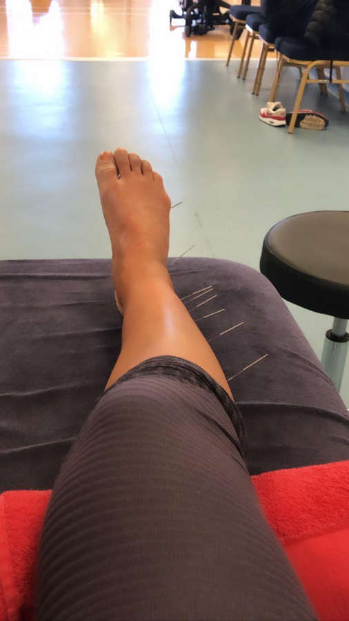 Becky Downie Feet