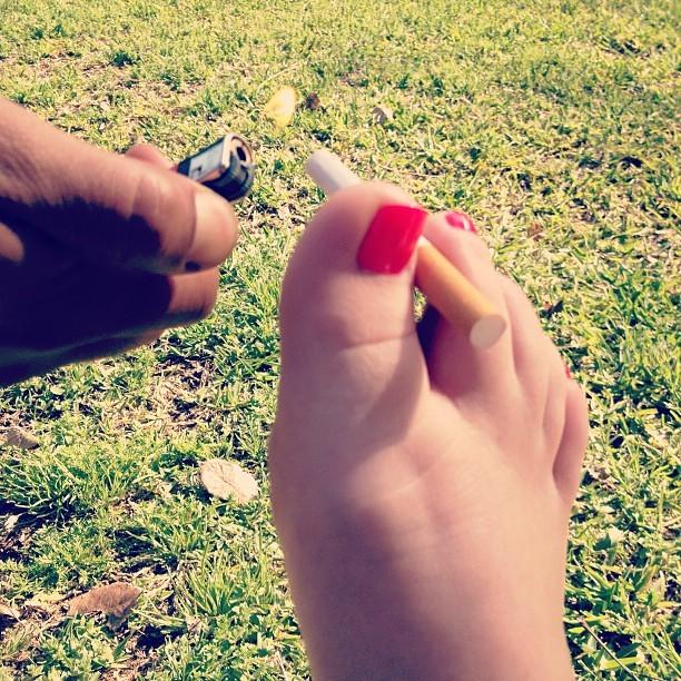 Hailey Livingston Feet