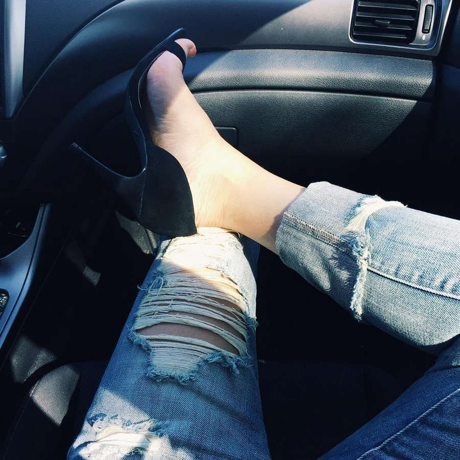Jazmin Whitley Feet