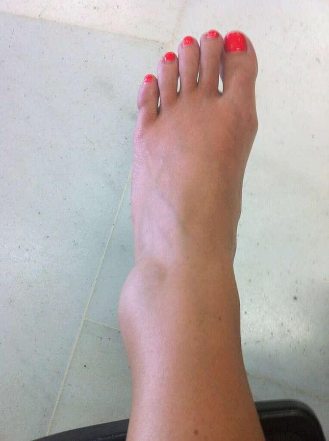 Alex Morgan Feet