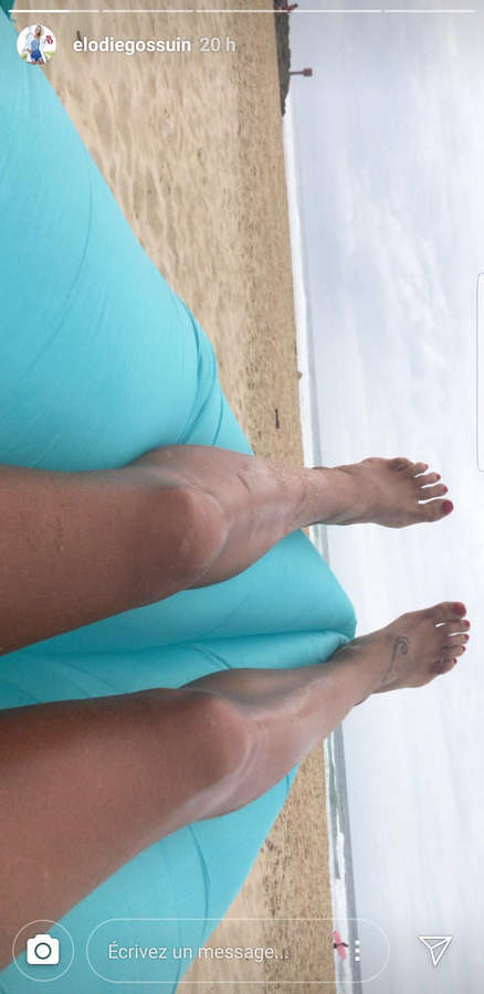 Elodie Gossuin Feet