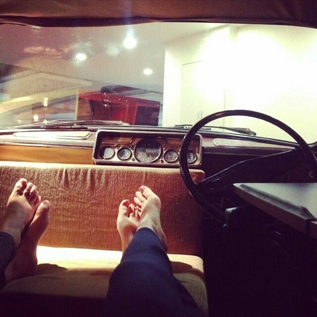 Nitibha Kaul Feet