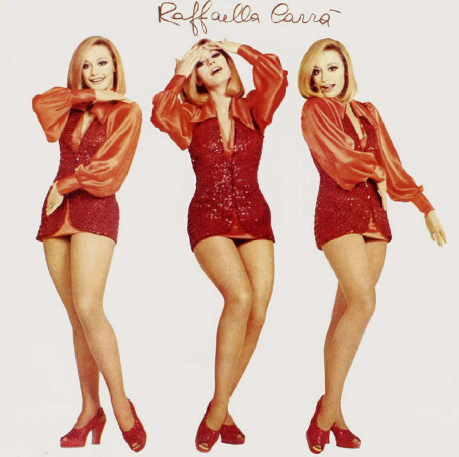 Raffaella Carra Feet