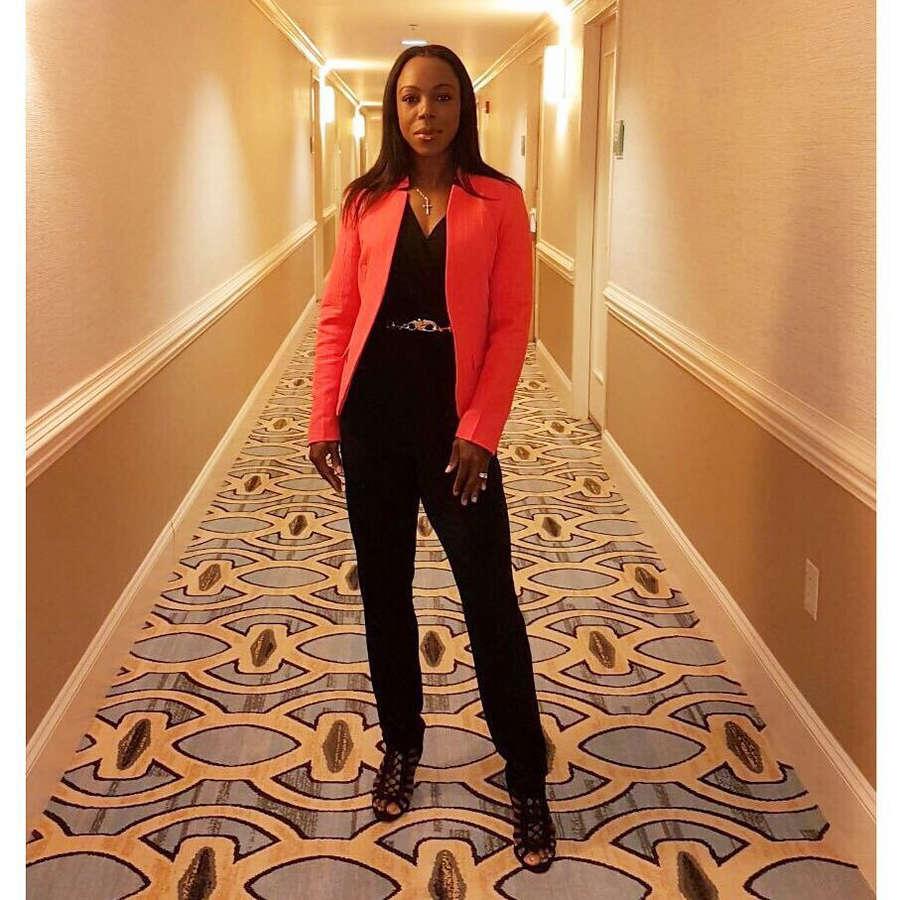 Veronica Campbell Brown Feet