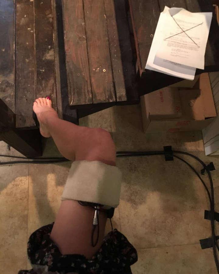Darcy DeMoss Feet
