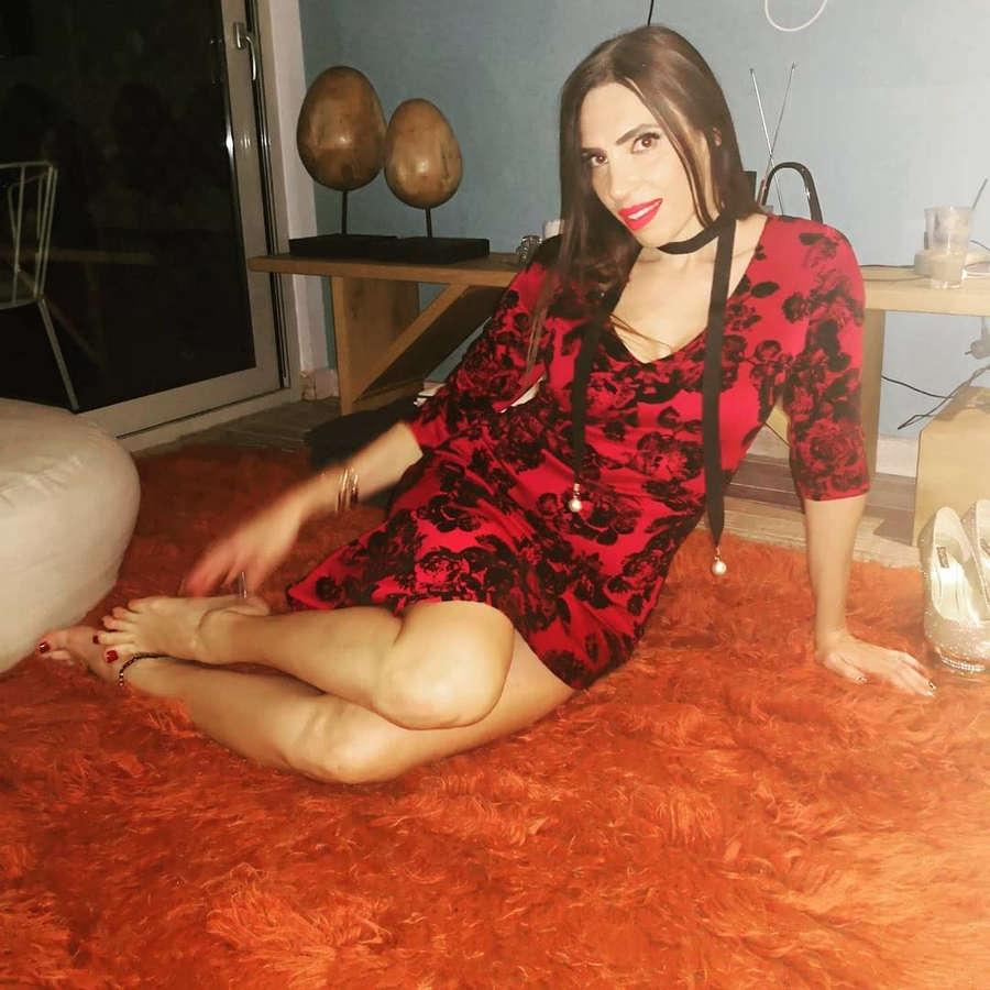 Maggie Haralambidou Feet