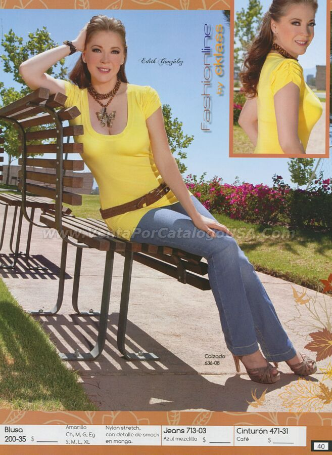 Edith Gonzalez Feet