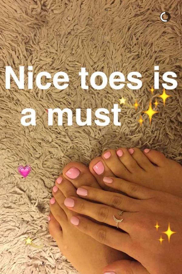 Katherine Lucia Feet