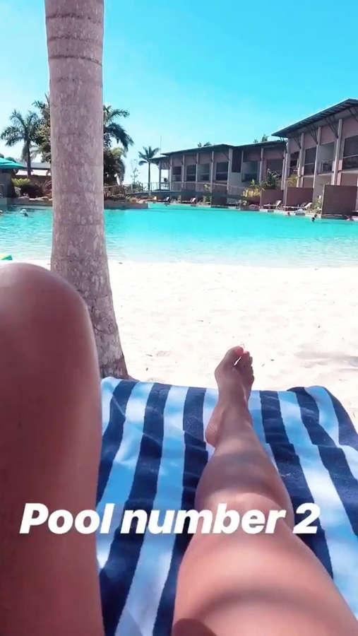Kim Sasabone Feet