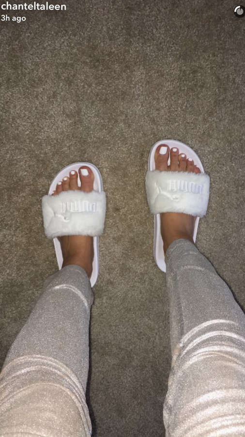 Chantel Jeffries Feet