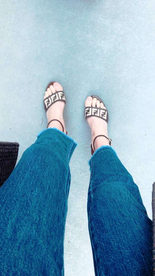 Hannah Masi Feet