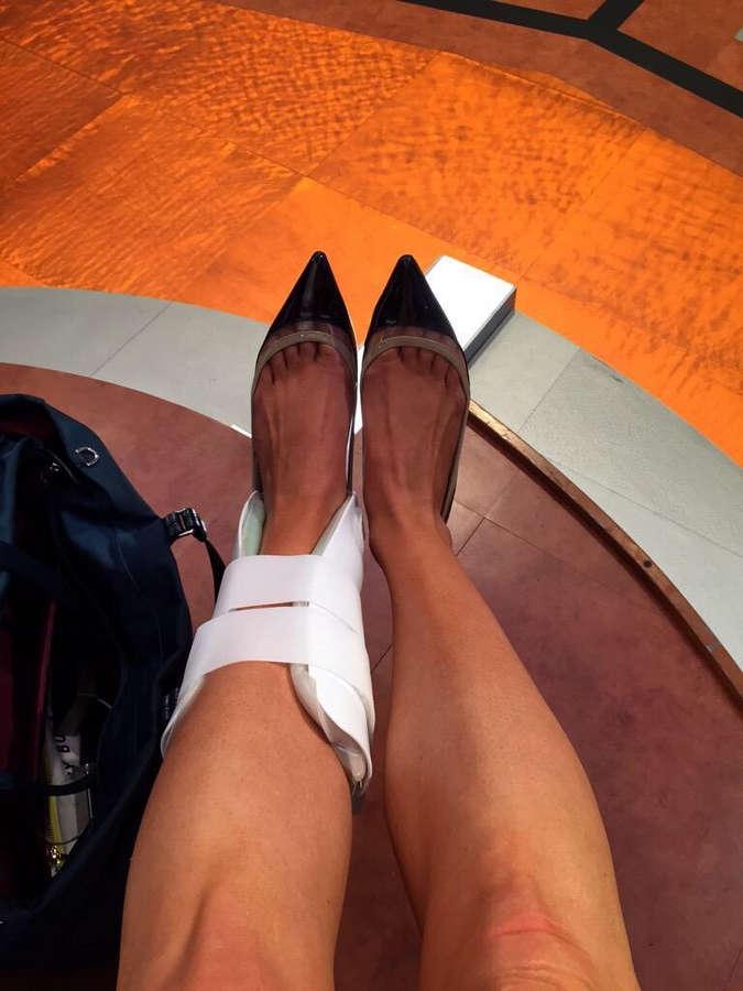 Julie Stewart Binks Feet