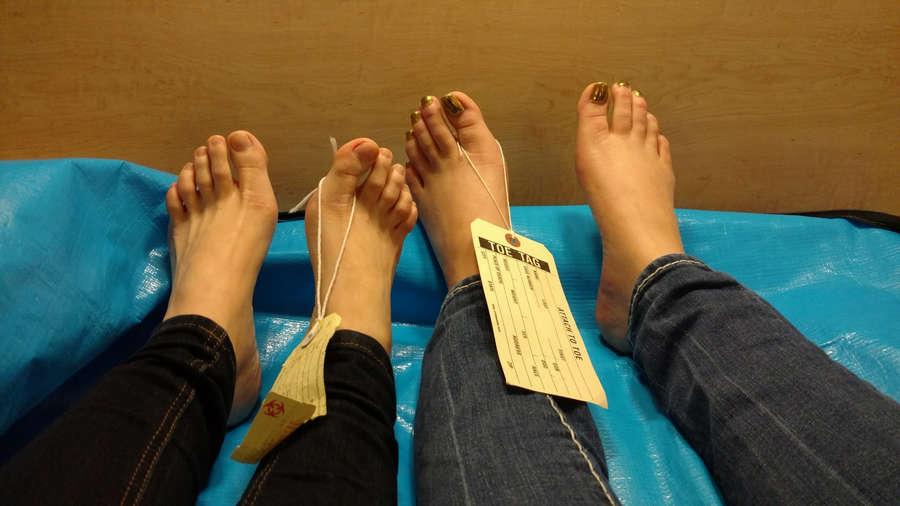 Nadia White Feet
