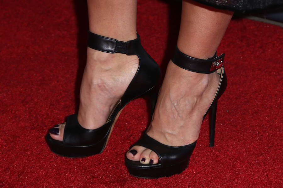 Kristina Liliana Tchoudinova Feet