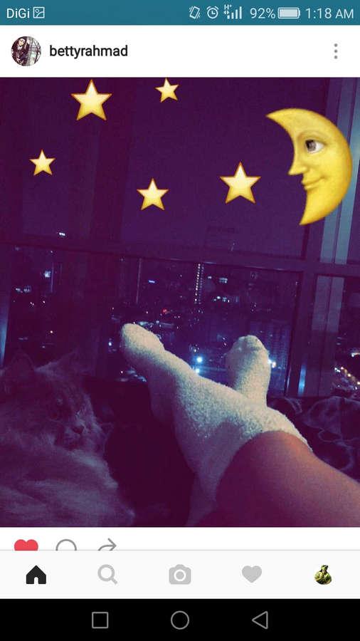 Betty Rahmad Feet