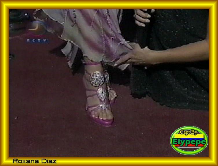 Roxana Diaz Feet