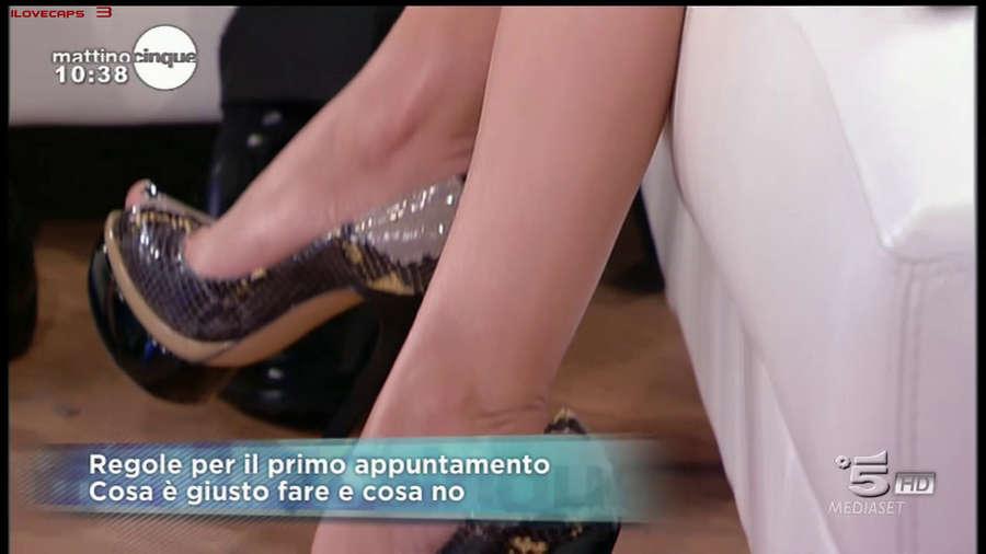 Federica Panicucci Feet