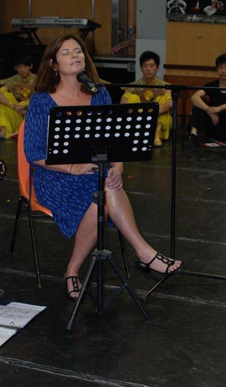 Margo Timmins Feet