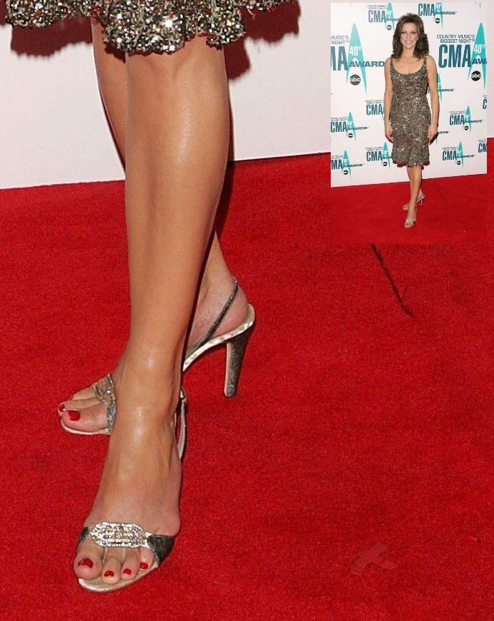 Martina McBride Feet