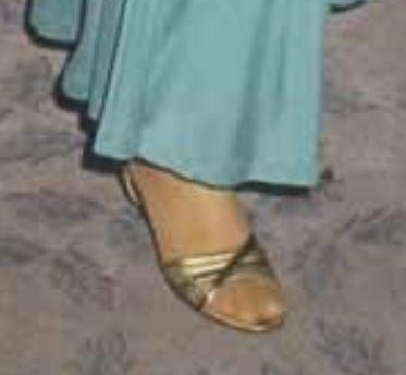 Emma Samms Feet