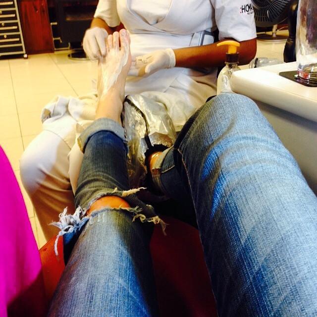Gianne Albertoni Feet