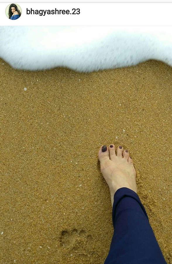 Bhagyashree Feet