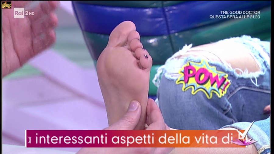 Bianca Guaccero Feet