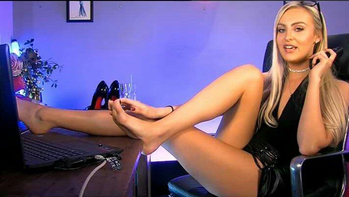 Tiffany Rose Feet