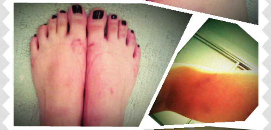 Alicia Vigil Feet