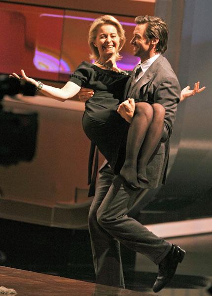 Ursula Von Der Leyen Feet