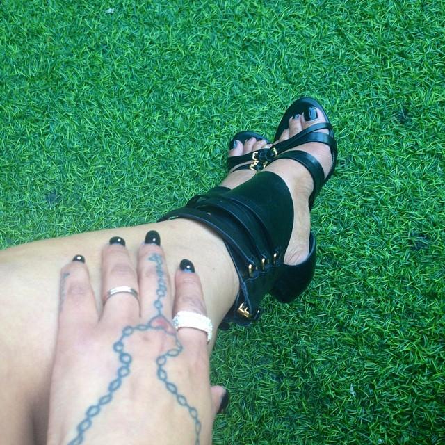 Arica Kane Feet
