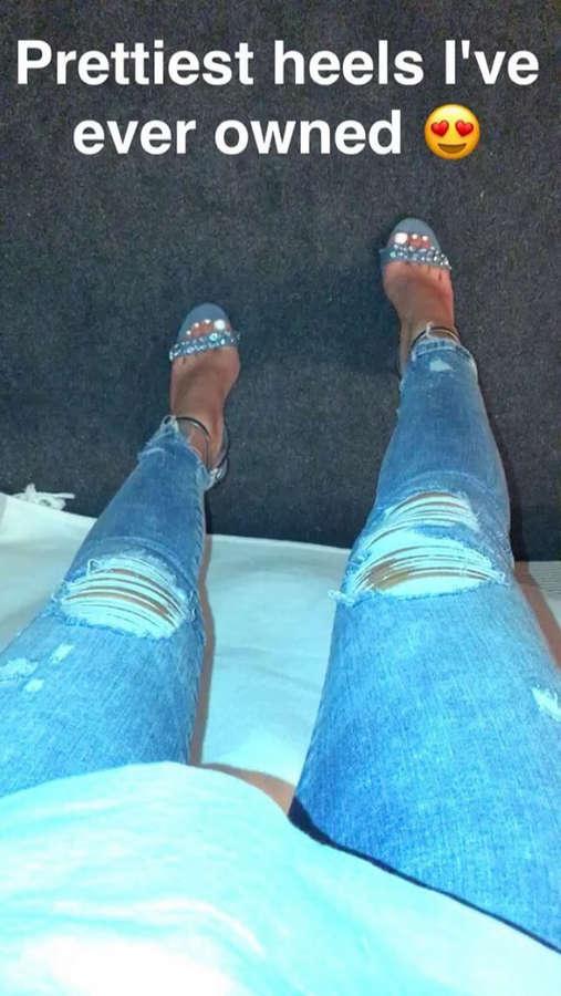 Sophia Saffarian Feet