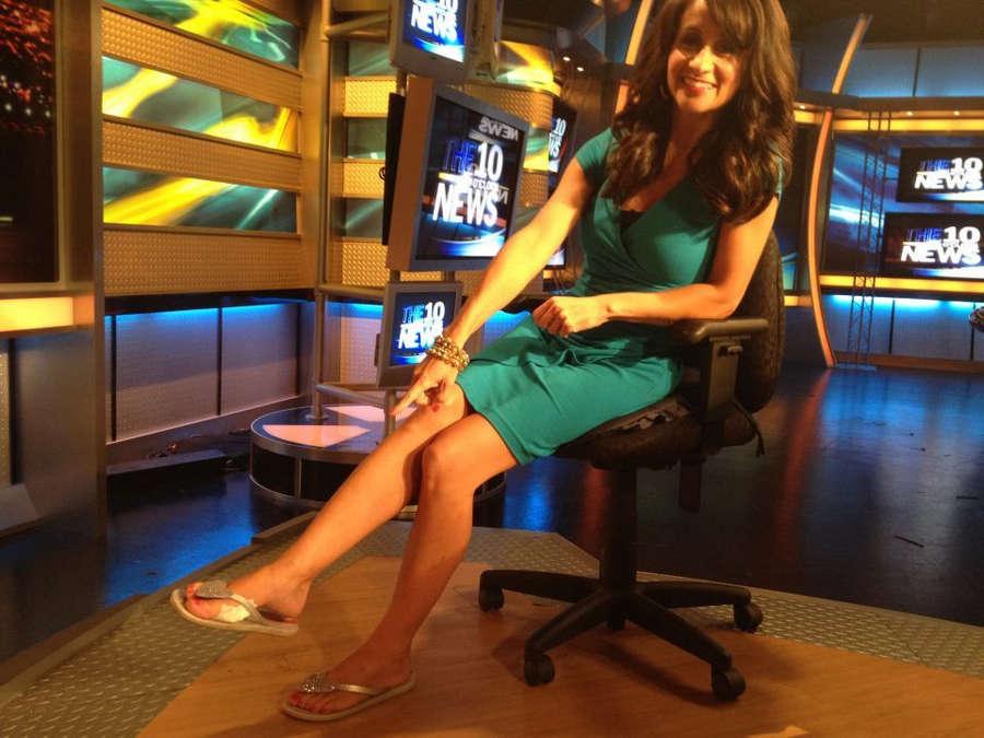 Audrey Puente Feet