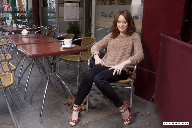Claire Foy Feet