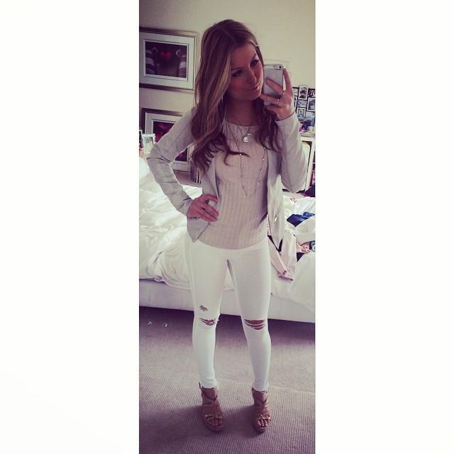 Zara Holland Feet