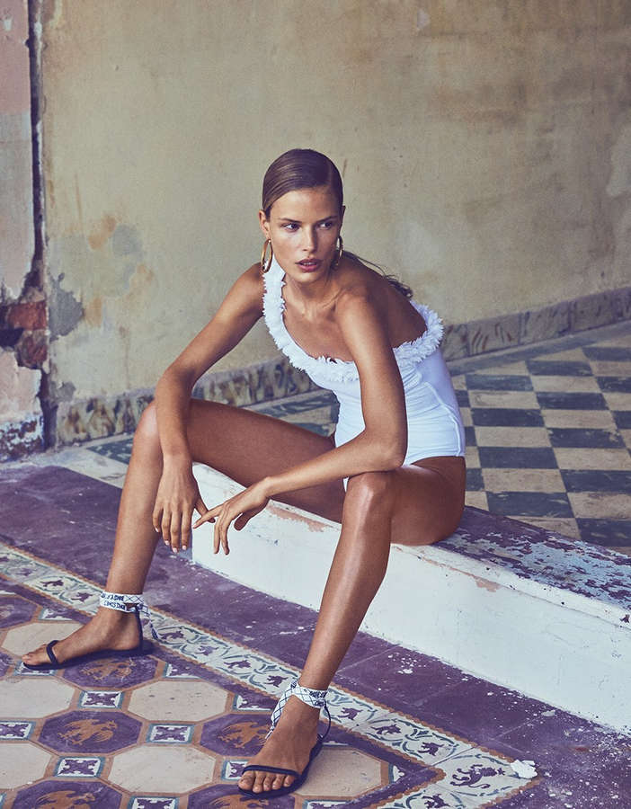 Alena Blohm Feet
