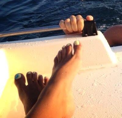 Christina Karagianni Feet