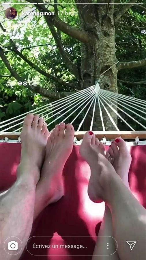 Karen Brunon Feet