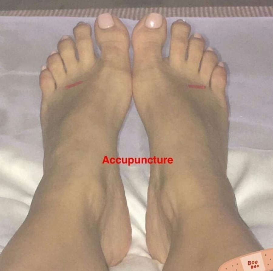 Kim Kardashian West Feet